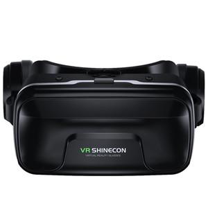 VR-Brille VR Shinecon Helmet 3D-Brille Virtual Reality-Headset für iPhone und Android Smartphone Smart-Phone-Schutzbrillen