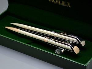 Luxus Geburtstagsgeschenk - Hochwertige Rlx Branding Silber Metall Kugelschreiber Kugelschreiber Schreibwaren Schule Bürobedarf Mit Rx Box Verpackung