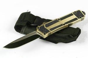 새로운 벤치 메이드 풍뎅이 BM 이교도 자동 칼 D2 더블 액션 포켓 나이프 BM 3300 3310 전술 생존 기어 자동 칼 A07 A16 utx85