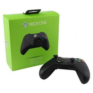 소매 패키지 쇼크 컨트롤러와 게임 컨트롤러 XBOX ONE 블루투스 무선 게임 패드 조이스틱 들어 PS4 PC 게임 핸들 DHL