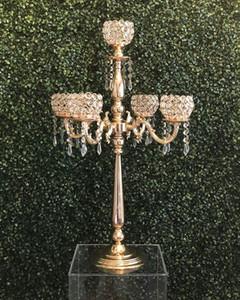Elegent vidro Centerpieces cristal baratos para topo da tabela do casamento Centerpieces Decoração senyu0410