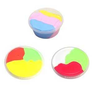 60ml DIY Fluffy Slime Scented No Borax Decompression Kids Toy Stress Relief Sludge Toy Non Toxic Slime for Kids Adults