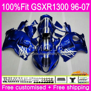 Injection For SUZUKI Hayabusa GSXR1300 GSXR 1300 96 02 03 04 05 06 07 Factory blue 22HM.93 GSX R1300 2002 2003 2004 2005 2006 2007 Fairing