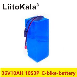 30A BMS ile 36V10Ah 10S3P 500W T fişi scooter yüksek güç ve yüksek kapasiteli 42V 18650 lityum pil, elektrikli bisiklet pil,