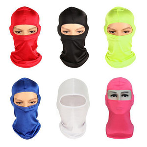 CS Outdoor Sport Cagoules Neck Face Mask Ski Snowboard Wind Cap Police Cyclisme Cagoules moto visage 12 couleurs