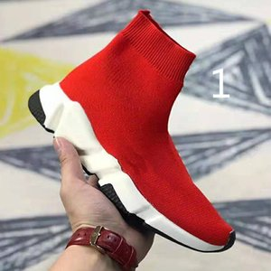 2020 New Paris Luxury Sock Shoe Runni Shoes Sneakers Speed Trainer Sock Race Runners Shoes men women Sports Boots Free Shipping