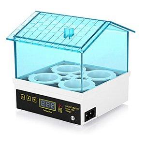 4 Temperatura Uova digitale Piccolo Brooding Hatchery Incubator Incubator con noi Plug Pet Supplies giardino domestico