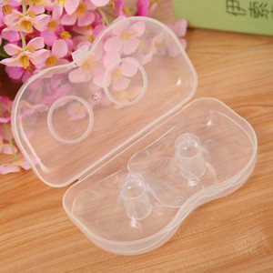 Silicone mamelon protecteurs alimentation mères boucliers Mamelon Protection Couverture allaitement mère lait silicone mamelons coussinets d'allaitement 2 pcs M1717
