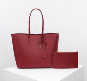 red color fashion hot sales Fashion brand luxury shopping bags designer handbags Classic stripes Retro Leather handbags free shipping