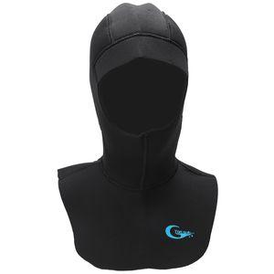 Yonsub 5Mm Neoprene Sunuba Diving Hood With Shoulder Keep War Hat Caps Snorkeling Equipely Wetsuit