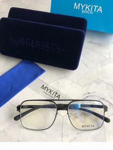 New mykita 1769 sunglasses for man pilot frame with mirror ultralight frame Memory Alloy oversized sunglasses for women cool outdoor design
