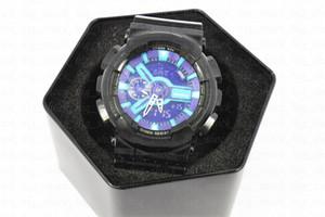 Kleine Zeiger arbeiten klassische Sport-Digitaluhr für Männer, Army Military Chronographenuhr Relogio Masculino