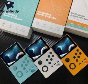 New POWKIDDY A19 Pandoras Box Android supretro Handheld-Konsole IPS-Bildschirm 3000 + Spiele 30 3D-Spiele WiFi Download 5pcs speichern
