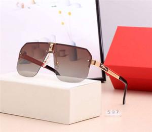 Лето Мужчины женщин очки Модные солнцезащитные очки Goggle Adumbral вождения очки UV400 Модель 110 5 цветов высокого качества с коробкой