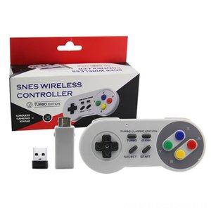Mini SNES 24G Wireless-Controller SNES-Klassiker Super-Controller Joysticks Spiel Zubehör Host-24G Mini-Spiel Griff support NESSNESW
