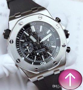 T2-2019 nouveau chaud Hommes de luxe Montres de luxe multistyle montres mécaniques automatiques d'origine Bracelet caoutchouc montre étanche Sport