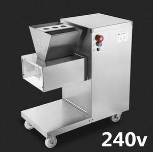 Großhandel - Kostenloser Versand 750w 240v QW Fleischschneidemaschine, Fleischschneider, Fleischschneider, 800kg / hr Fleischverarbeitungsmaschinen