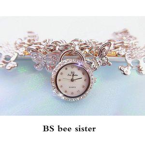 BS bee sister Brand Ladies Watch Fashion Bracelet Watch Alloy Casual Women's Watch FA1028
