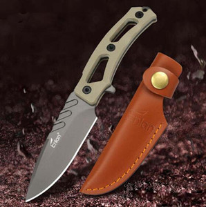 Promotion Enlan EG003 hunting knife Composite fiber non-slipG10 HANDLE 8CR13MOV blade EDC tools EXCLUSIVE SHEATH collection knife