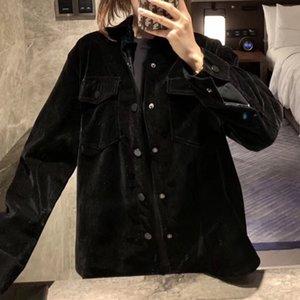 재킷 아니라 캐주얼 아시아 크기 S-LWSJ041 높은 품질의 슈퍼 따뜻한 두꺼운 두께 깨진 드릴 드릴 곰 코트 여자
