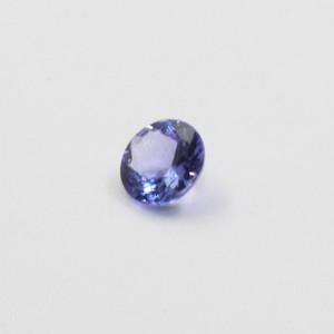 5мм VS Grade Природного Tanzanite Сыпучих Gemstone для ювелирных изделий DIY Real Tanzanite для обручального обручального кольца