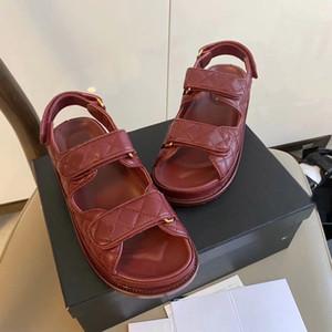 Moda Nuova Donne Sandali in pelle Scarpe Donna Slides Sapatos Femininos Zapatos Mujer Chaussure Femme Sapato Feminino Sandalias