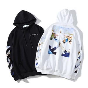 Klasik Tasarımcı marka hip hop erkekler hoodie yüksek kalite erkekler kadınlar kazak ok hız kemer baskılı kazak özel özel hoodies