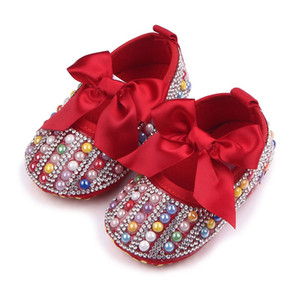 Baby Girl Shoes Baby Soft Sole Crib Walker Shoes High Quality First Walker Infant A005