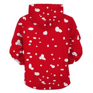 2020 Nouvelle 3D Imprimer Sweats à capuche Sweat-shirt unisexe Casual Taille Plus Automne Hiver Streetwear Outdoor Wear Femmes Hommes 022 Noël hoodies