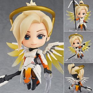 10cm Mini Cartoon Anime Action Figure 790# Mercy Classic Skin Edition Ver. PVC Model Decoration Cute Children Lovely Toys New T200304