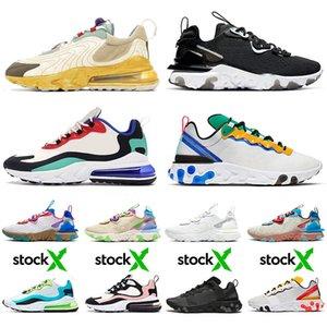 zapatos para correr tenis Nike AIR Max 270 React ENG Travis Scott Cactus Trails Element Undercover 87 55 React Vision stock x zapatillas de deporte hombres mujeres entrenadores