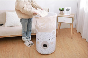 Cartoon Quilt Storage Bags Clothing Drawstring Pouch Pillows Quilt Blanket Bedding Organizer Home Multi Function Closet Bag FJ509