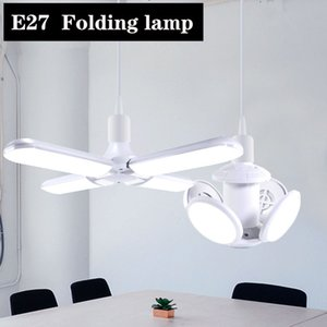Быстрый корабль LED футбол лампа E27 40 Вт AC 85-265 в складной лампы E27 лампа Bombilla Spotlight LED свет для дома светодиодные лампы