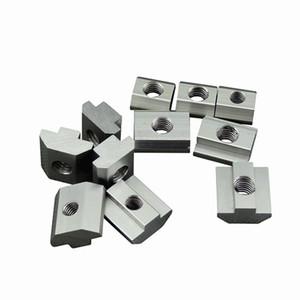 T bloc carré écrous M3 M4 M5 M6 M8 écrou fente t écrou de marteau coulissant pour 2020 3030 4040 profil en aluminium fixer les écrous