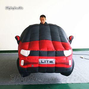 Publicité Marcher gonflable modèle de voiture Costume adultes Wearable Blow Up Voitures costumes avec logo personnalisé imprimé pour Parade Voir