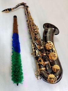 Japón Yanagisawa modelo T-902 Bb saxofón tenor saxofón de oro negro con el rendimiento de instrumentos musicales profesionales del envío