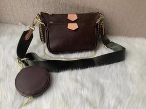 Recenti 3 insiemi / piece I sacchetti di moda sacchetti di spalla delle donne di qualità borsa del marchio Dimensioni 24 * 13 * 4.5cm Modello 68118