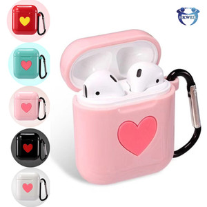 Shockproof TPU Case For Airpods Wireless Bluetooth Headphones For AirPod Charging Box Protector Cases Cover With Anti-drop