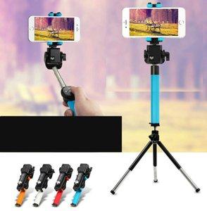 Mini telemóvel vara selfie rotação de 360 ° artefato câmera sem fio dobrável horizontal