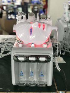 6 IN 1 Hydra Facial Machine RF Skin Rejuvenaiton Microdermabrasion Hydro Dermabrasion Bio-lifting Wrinkle Removal Hydrafacial Spa