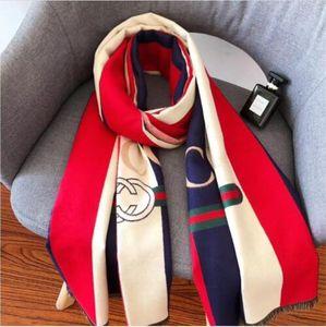 2020High Qualtiy Luxurys Brand Cashmere scarf for Women Design Long Scarves with silver thread Shawls Shawls