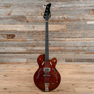 Special New 4 strings Semi-Hollow body Electric Bass Guitar with Chrome hardware,Rosewood fingerboard,offer customize