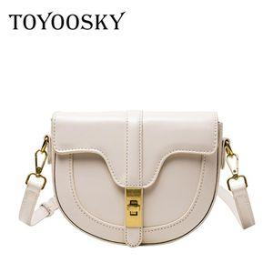 Женщины полукругные сумки сумки для PU Crossbody сумки кожаные модные сумки седло Toyoosky Design French Style Messenger Sag NBKDV ANSFH