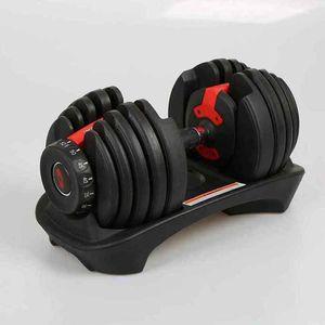 Ajustável halteres 5-52.5lbs Pesos exercícios de fitness Halteres construir seus músculos Outdoor Sports Fitness Equipment ZZA2230