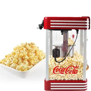 Aile İçin Çok Fonksiyonlu Sıcak Hava Mısır Patlatma Makinesi 310W Retro Sağlıklı Ve Yağsız patlamış mısır makinesi Kırmızı Araçları
