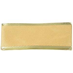 200*5cm Single Face Powder Ribbon Webbing Decoration Gift Christmas Ribbons(Gold)