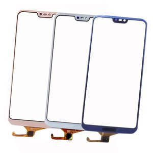 10 pcs para huawei p20 lite touch screen painel de vidro sensor de digitador touchpad painel de vidro frontal reparação de peças de reposição para huawei nova 3e