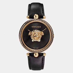 Marca de fábrica superior de lujo del cuero relojes de las mujeres PALAZZO Serise cuarzo de la manera mujeres de los relojes pulsera de montre femme mejor Navidad para el regalo de señora y Gi