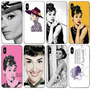 [TongTrade] Pretty Women Audrey Hepburn Case For Apple iPhone 11 Pro X Xs Max 8s 7s 6 5 Galaxy M20 M30 M40 Honor 10i 20i Sony Xperia XA Case