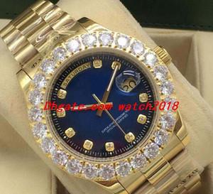 Роскошные часы 41 мм 43 мм из нержавеющей стали браслет изготовленный на заказ с бриллиантами Автоматические модные мужские часы наручные часы